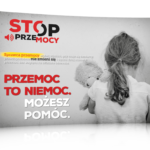 Przemoc to niemoc - plakat edukacyjny