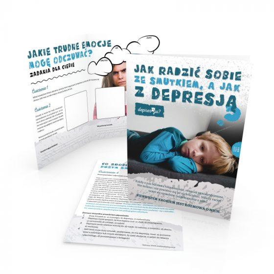 depresja ulotka profilaktyczna dla uczniów