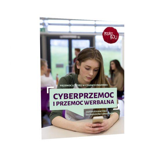 cyberprzemoc ulotka profilaktyczna